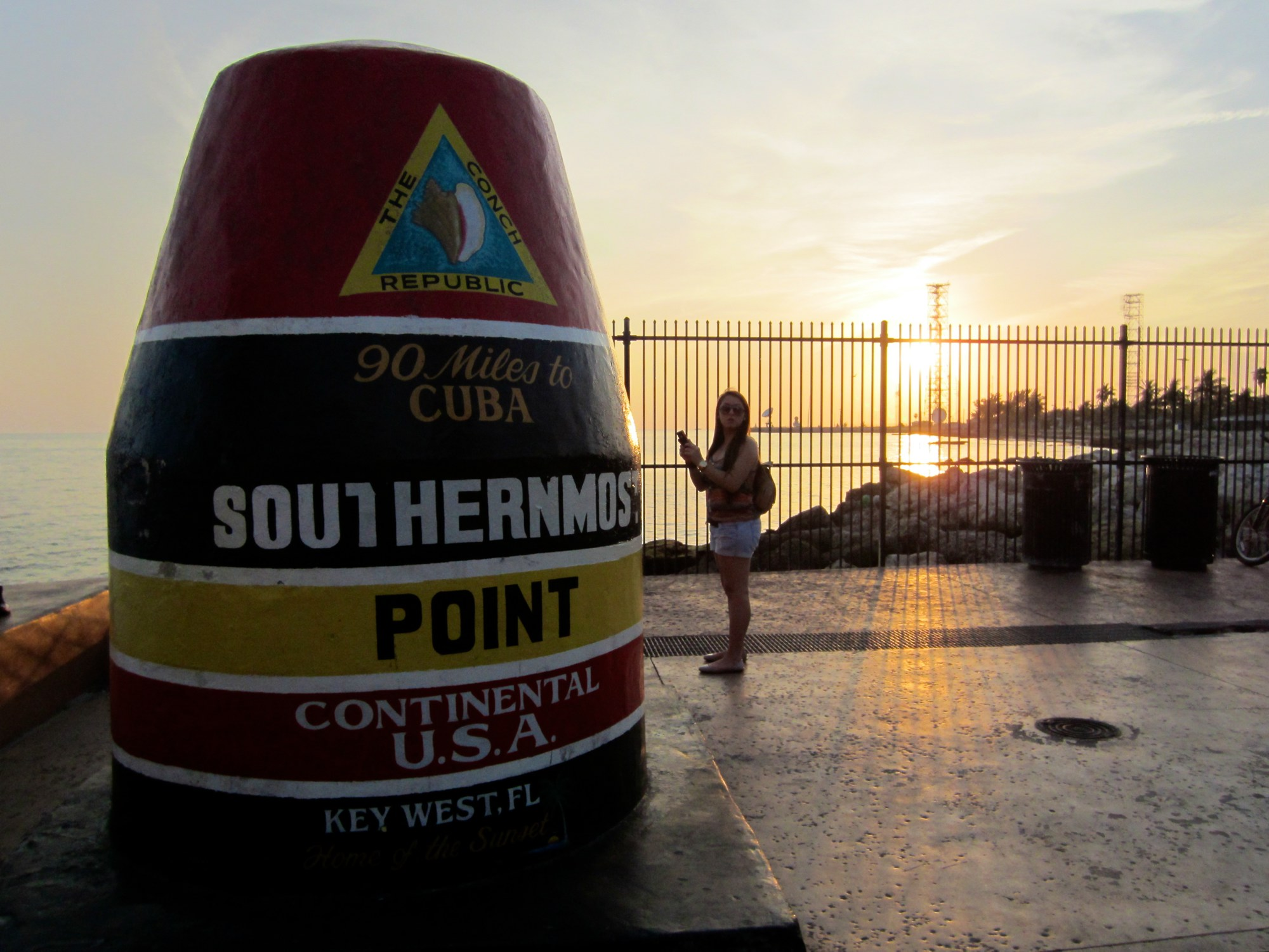 Road Trip USA: Monument at southernmost point in the USA