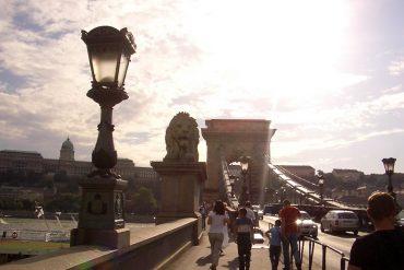 Gellert Brücke Budapest