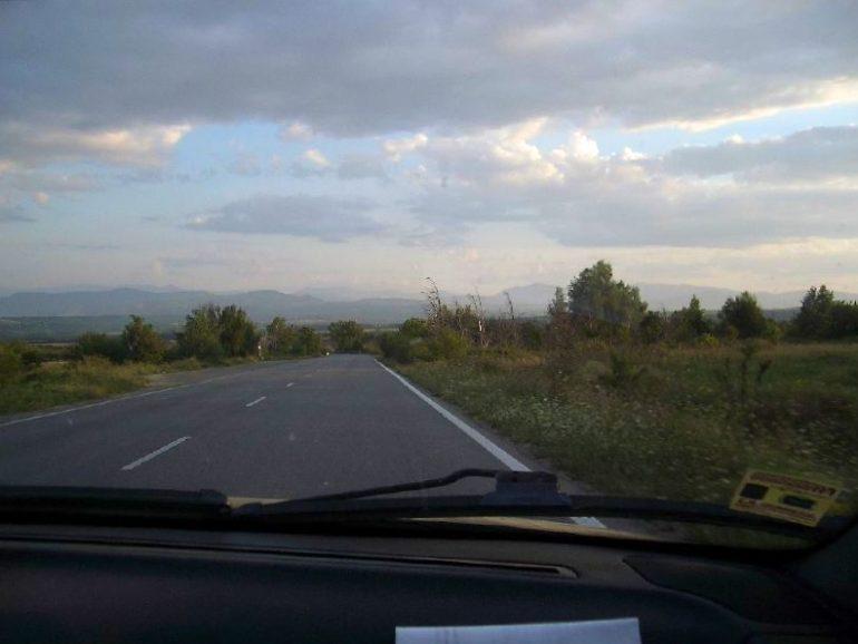 Trampen durch Europa: Landschaft im nördlichen Bulgarien
