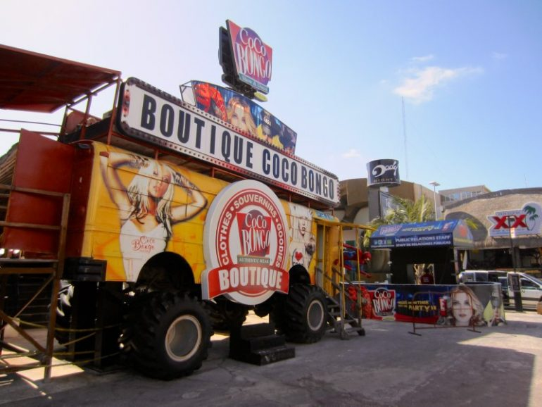 Beste Festivals: Food Truck während Spring break in Cancun