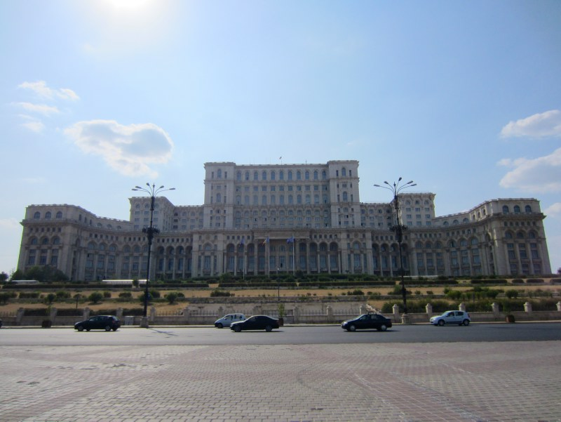 Ceaucescu palace in Bucharest