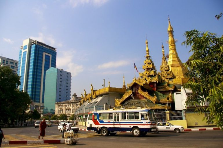 Yangon: Sule Pagode
