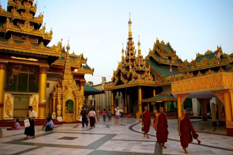 Yangon: Shwedagon Pagode