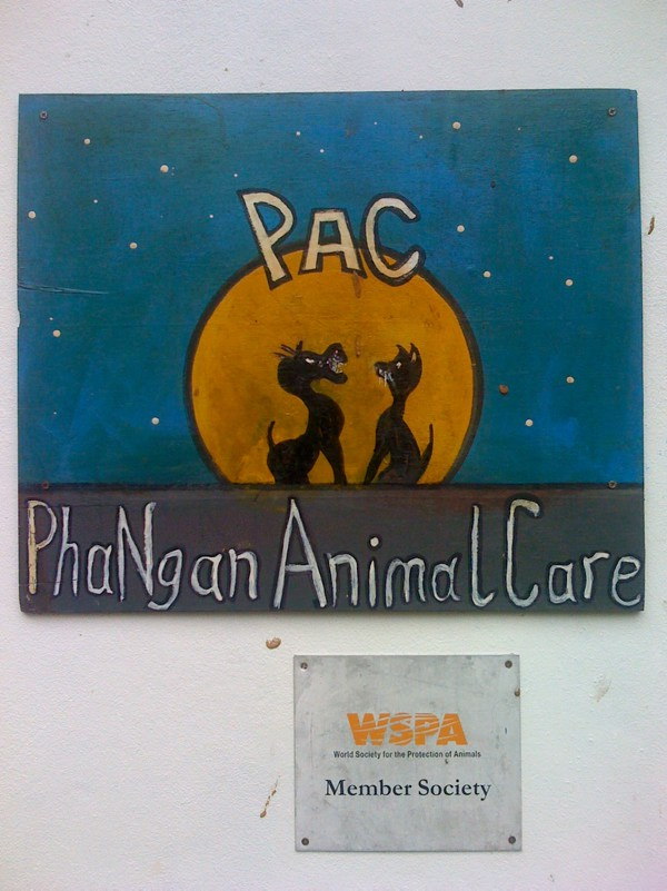 Sign of Phangan Animal Care