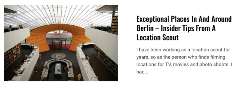 exceptional places in Berlin