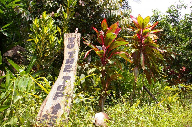 Khao Ra: Ein Wegweiser nach oben