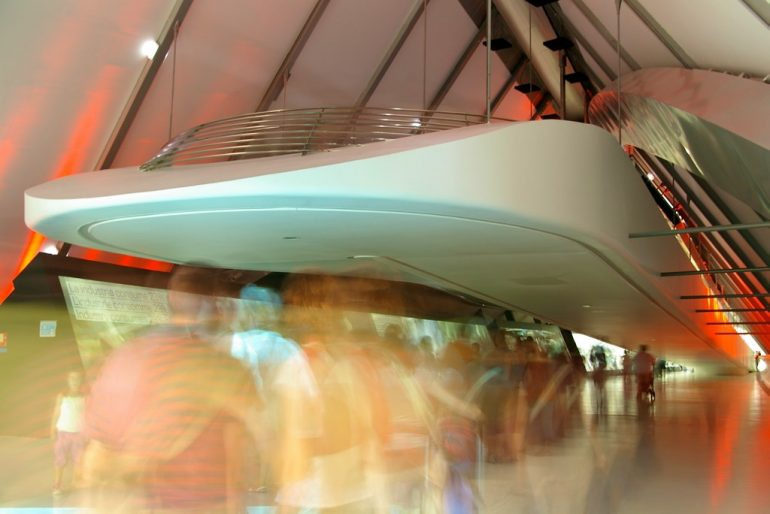 Expo 2008: Langzeitbelichtung