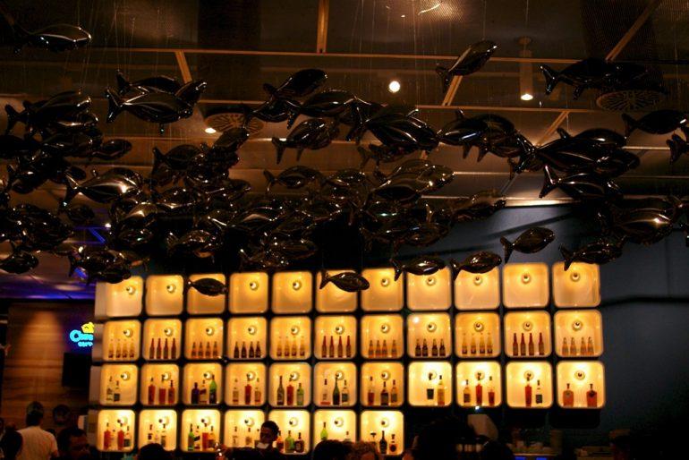 Expo 2008: Dekoration in einem der Restaurants