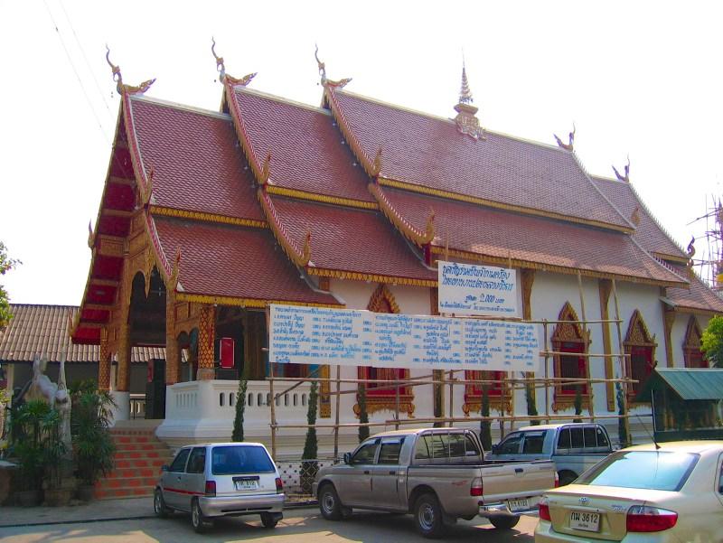 Temples in Chiangmai: Wat Puak Chang