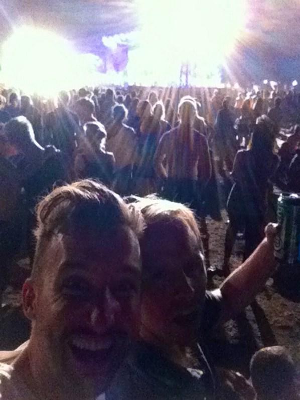 Haltestelle Woodstock: Marco Buch inmitten Hunderttausender