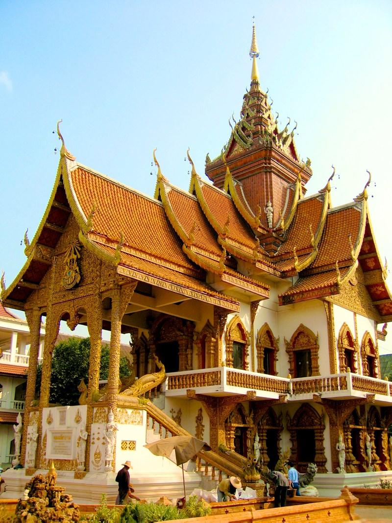 Temples in Chiangmai: Wat Bupparam