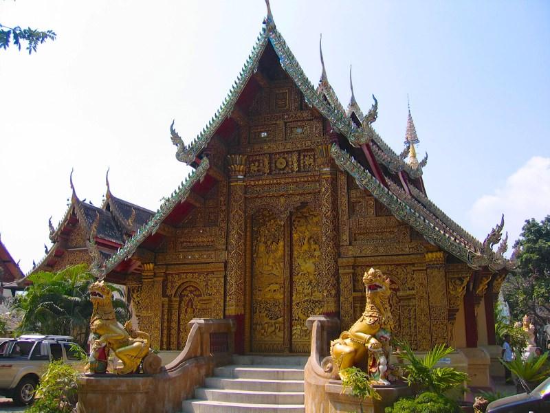 Temples in Chiangmai: Wat Mahawan