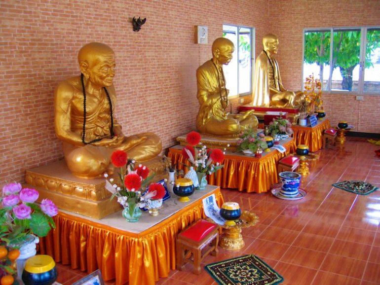 Tempel Chiang Mai: Im Wat Prasat