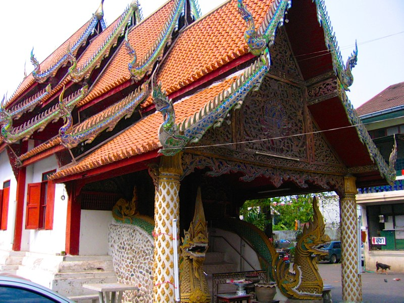 Temples in Chiangmai: Wat Samphao