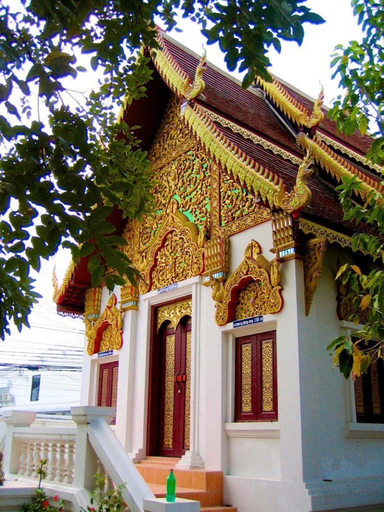 Tempel Chiang Mai: Wat Moonran