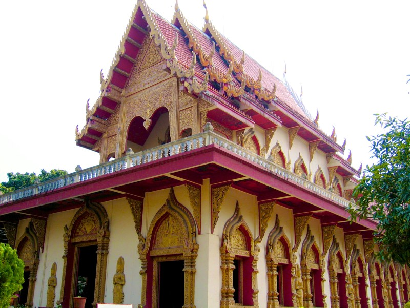 Temples in Chiangmai: Wat Panthon