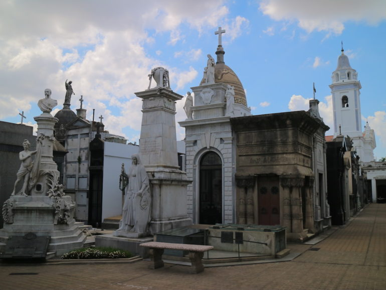 Most beautiful cemeteries: Graves at La Recoleta