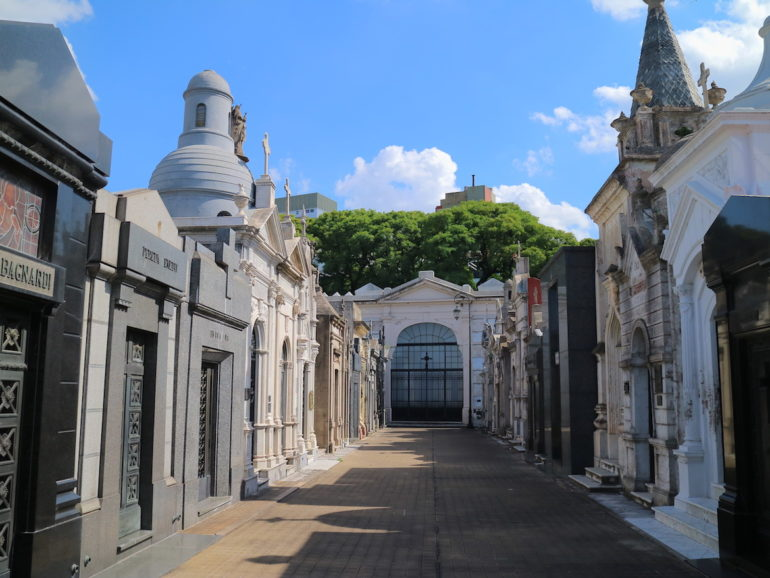 Most beautiful cemeteries: Graves in La Recoleta