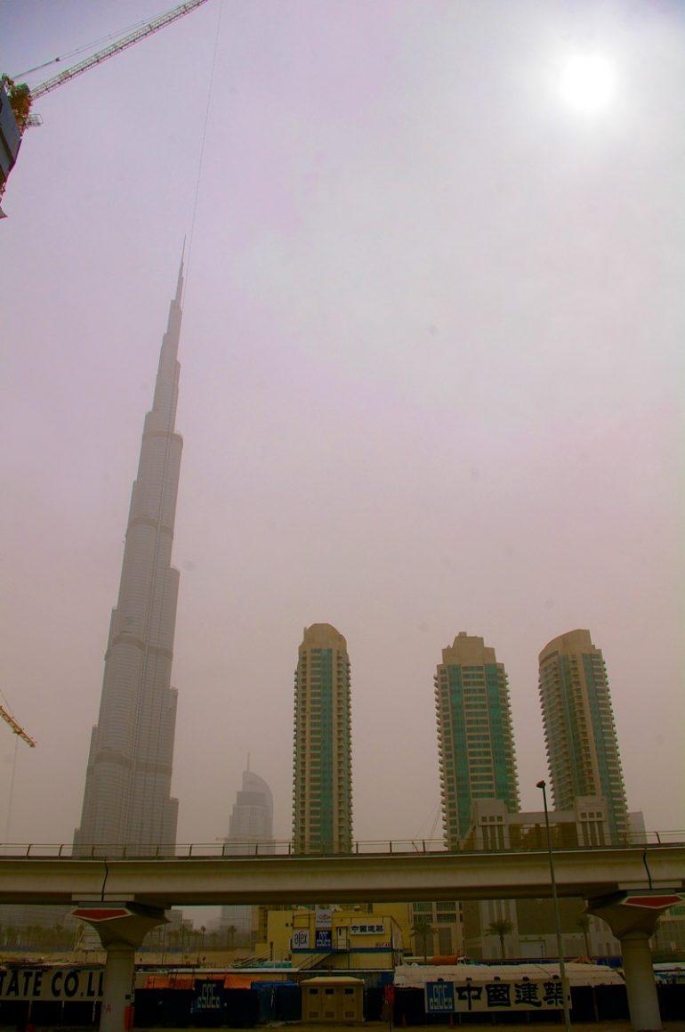 Zwischenstopp in Dubai: Burj Khalifa