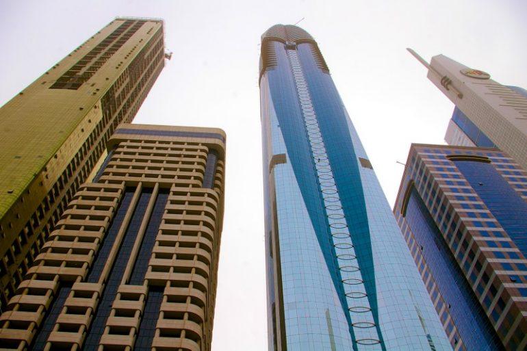 Zwischenstopp in Dubai: Skyline
