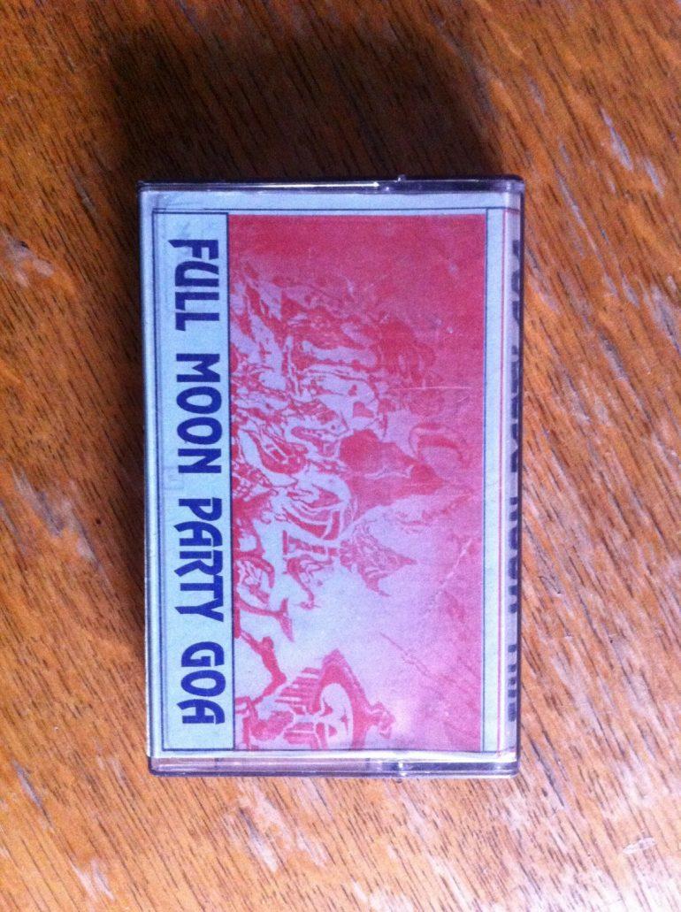 Kassette mit Goa Trance