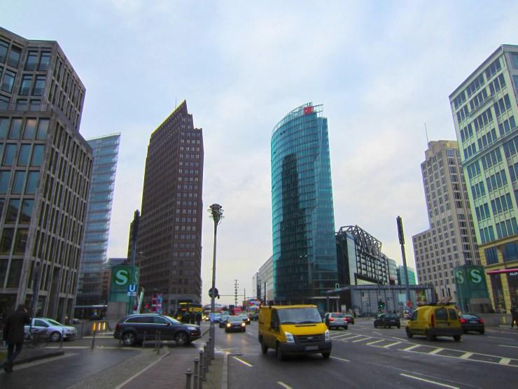 Mauerweg: Potsdamer Platz