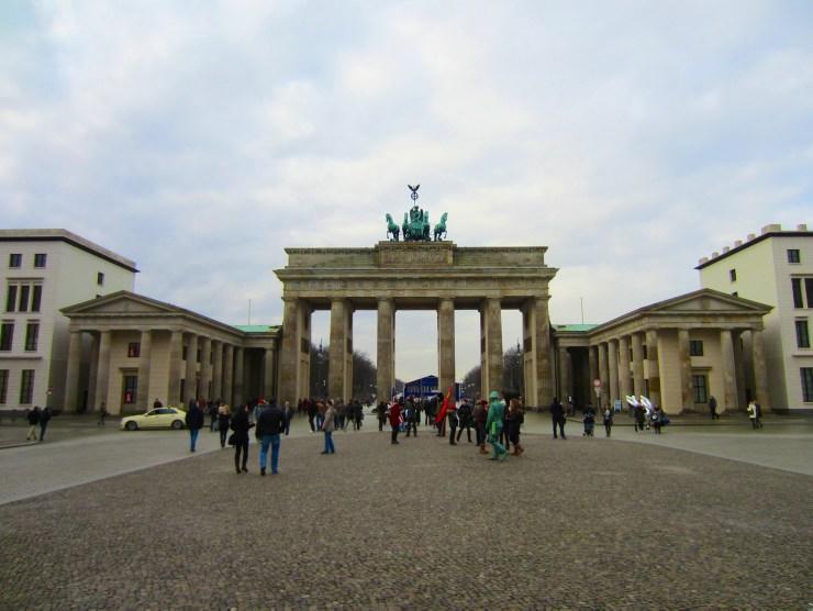 Mauerweg: Brandenburger Tor