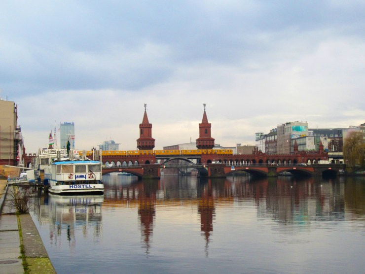 Mauerweg: Oberbaumbrücke