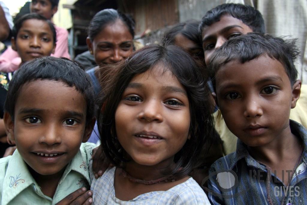 Dharavi Kids' smiles - Andreas Grosse-Halbuer