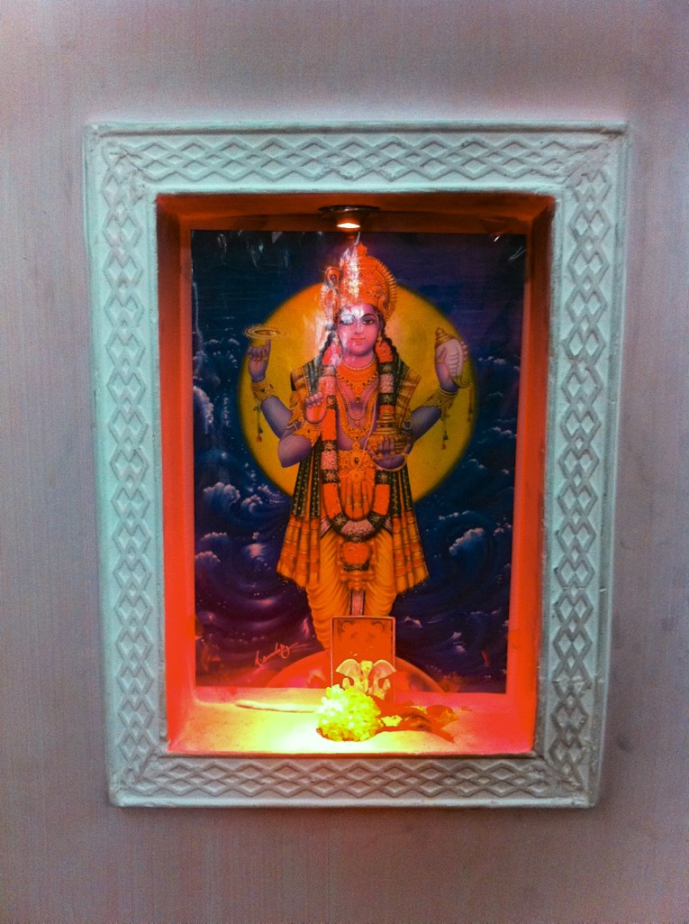 Dhanvantari, the god of Ayurveda