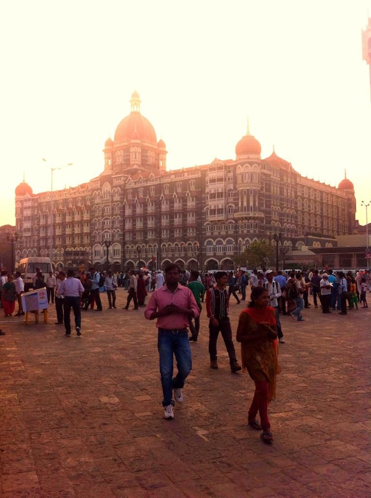 Jogging in Mumbai: The Taj Mahal Palace Hotel