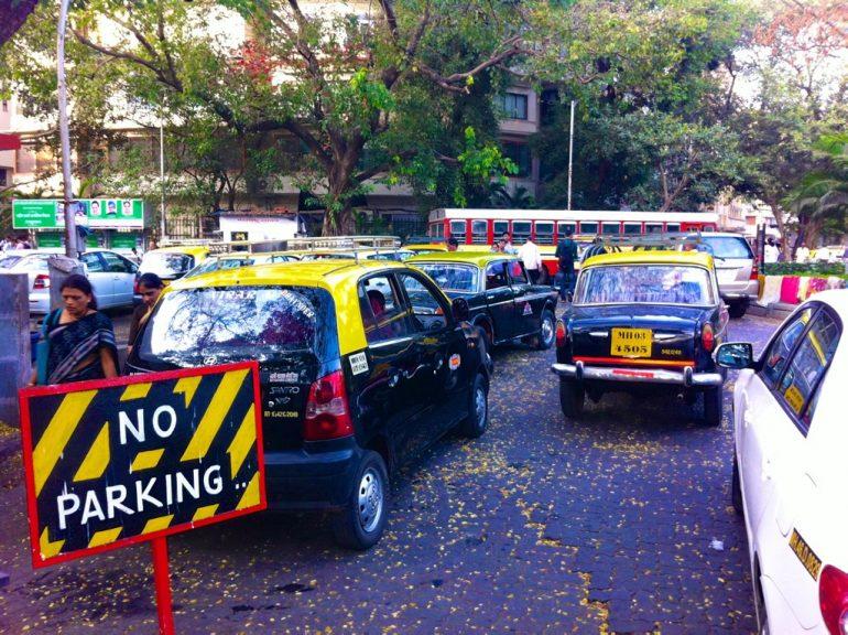 Jogging in Mumbai: Strassenszene