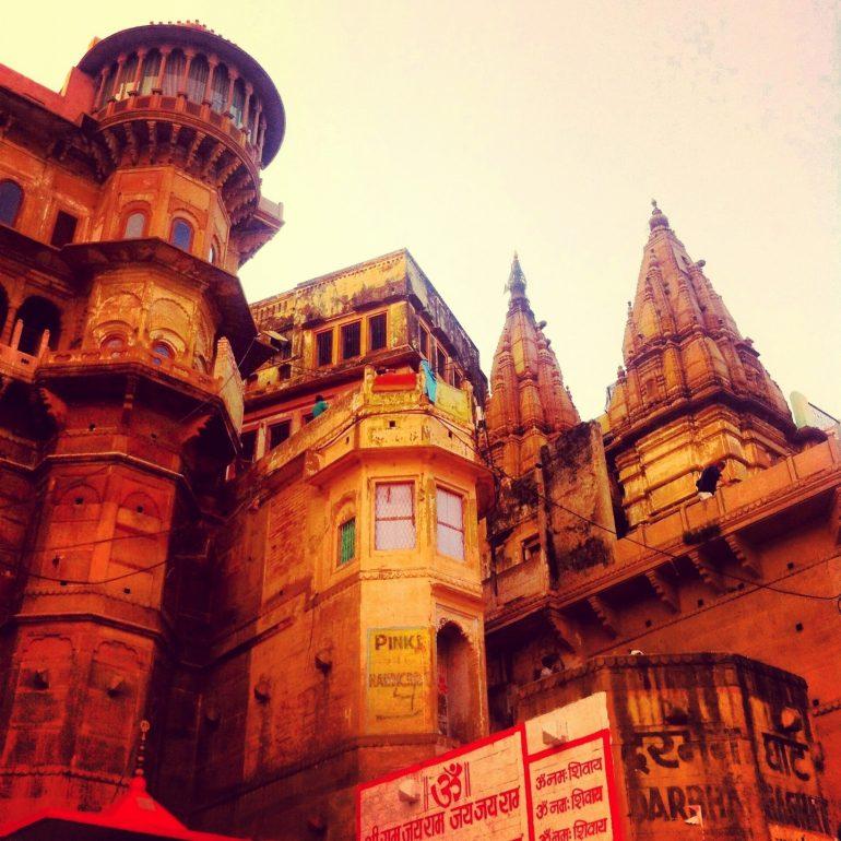 Gebäude in Varanasi