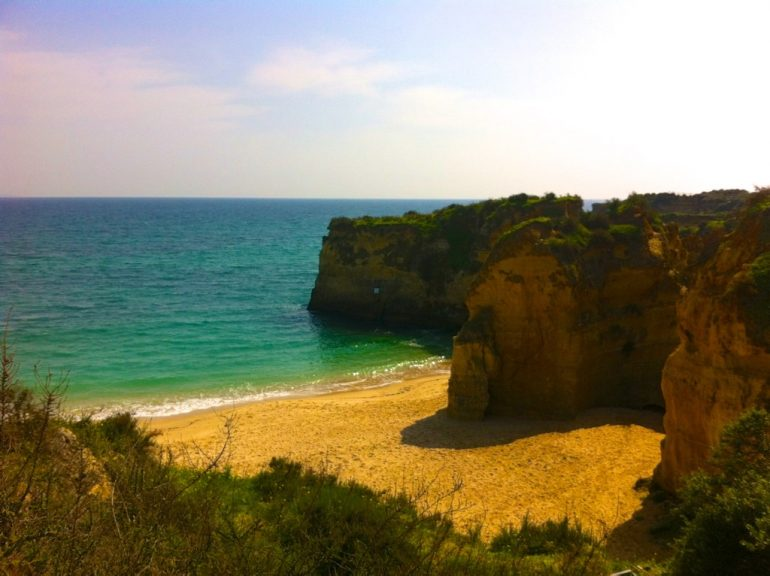 Algarve Highlights: Strand bei lagos