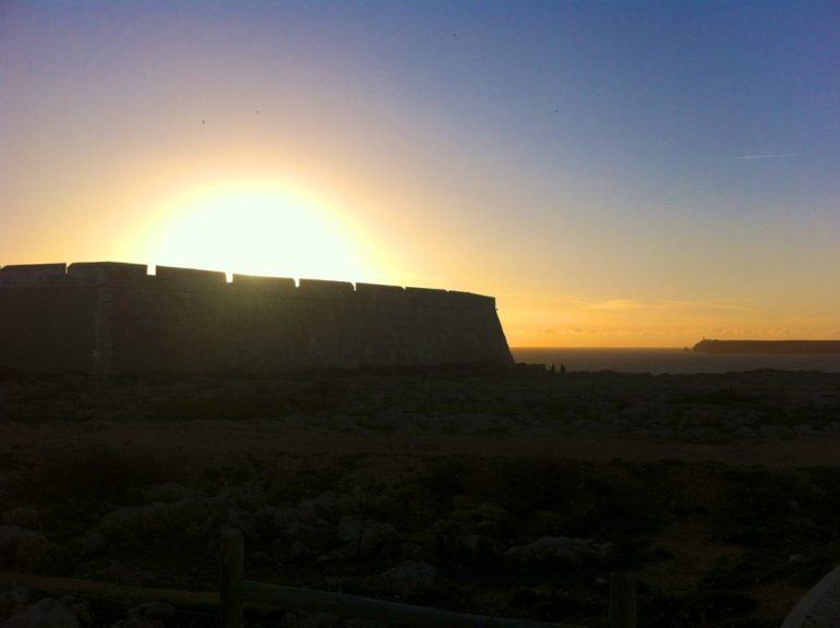 Algarve insider tips: Sagres Fort in the sunset