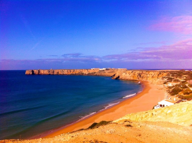 Algarve insider tips: Sagres Fort with beach and sea