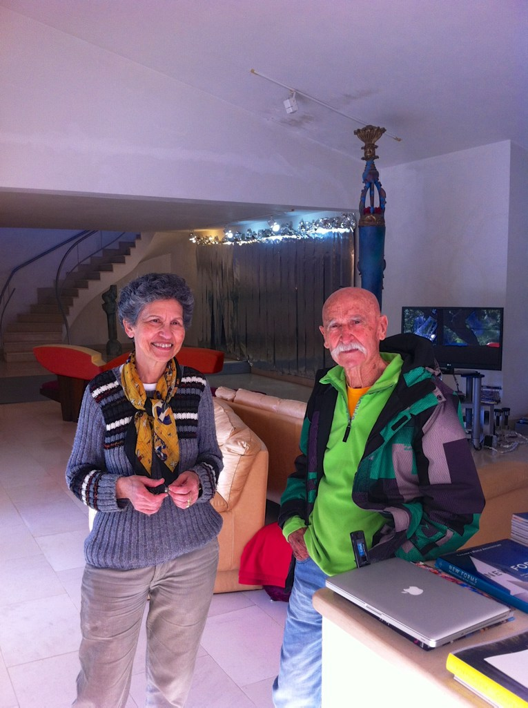 Algarve insider tips: Bota Filipe and Cândida Paz inside their house