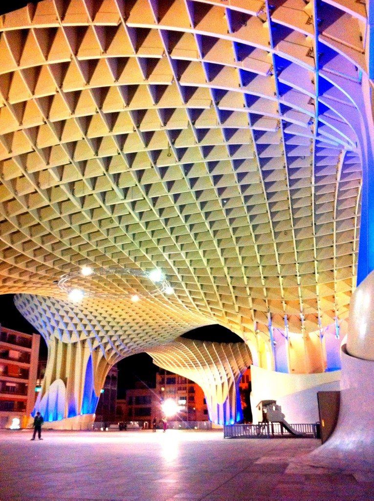 Algarve insider tips: Artpiece at Metropol Parasol, Sevilla