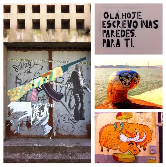 Lissabon Sehenswürdigkeiten: Street Art