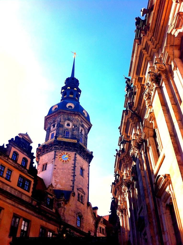 Kirche in der Altstadt von Dresden