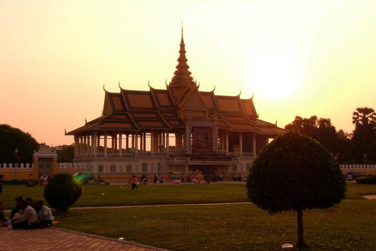 Tempel in Phnom Phen