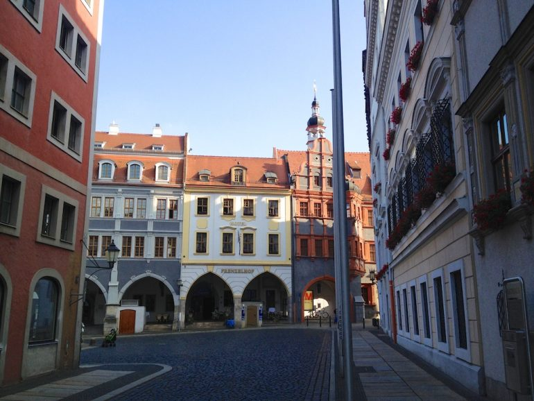 Blick auf den Untermarkt in Görliwood