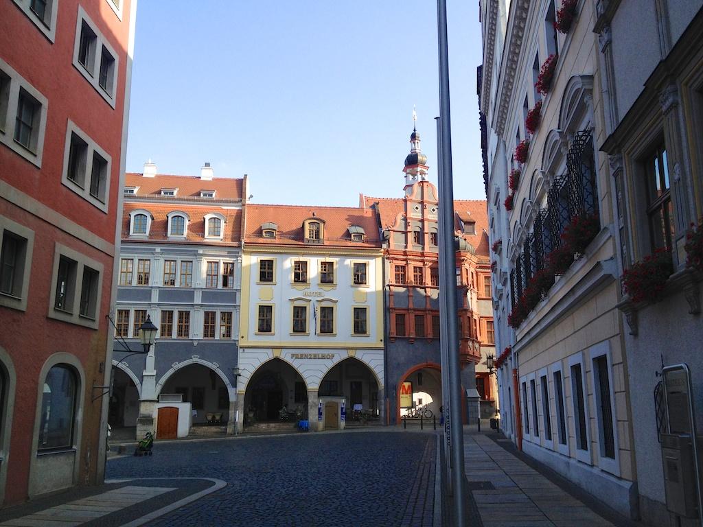 Einer der beliebtesten Drehorte in Görlitz: der Untermarkt. Inglourious basterds, anyone?