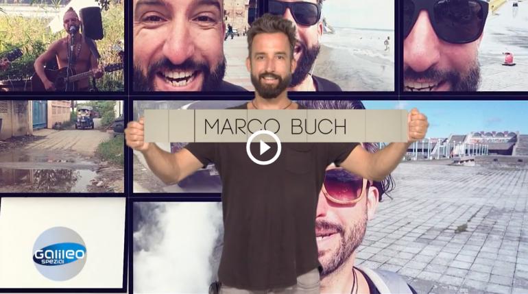 """Marco Buch"" bei Pro 7 Galileo"