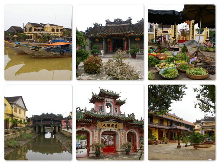 Vietnam Sehenswürdigkeiten: Häuser und Plätze in Hoi An