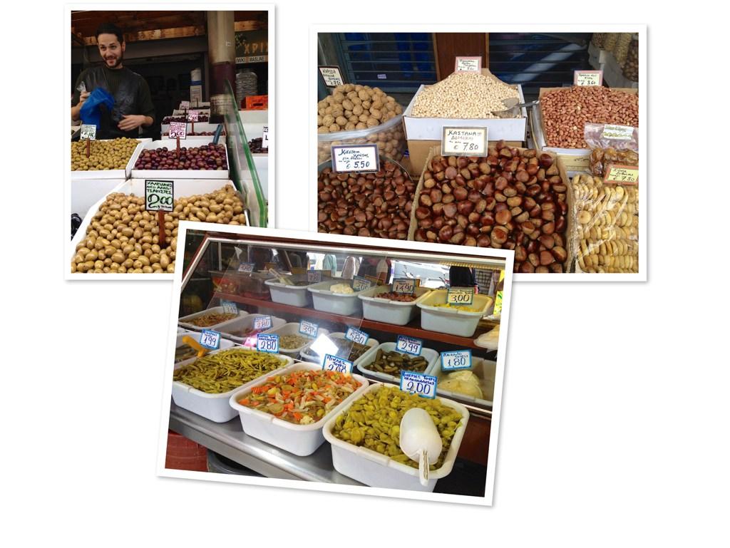 Der Zentrale Markt Athens.