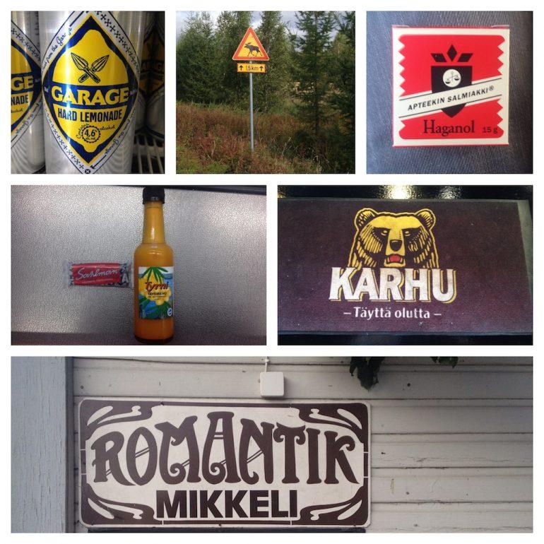 Logos finnischer Marken
