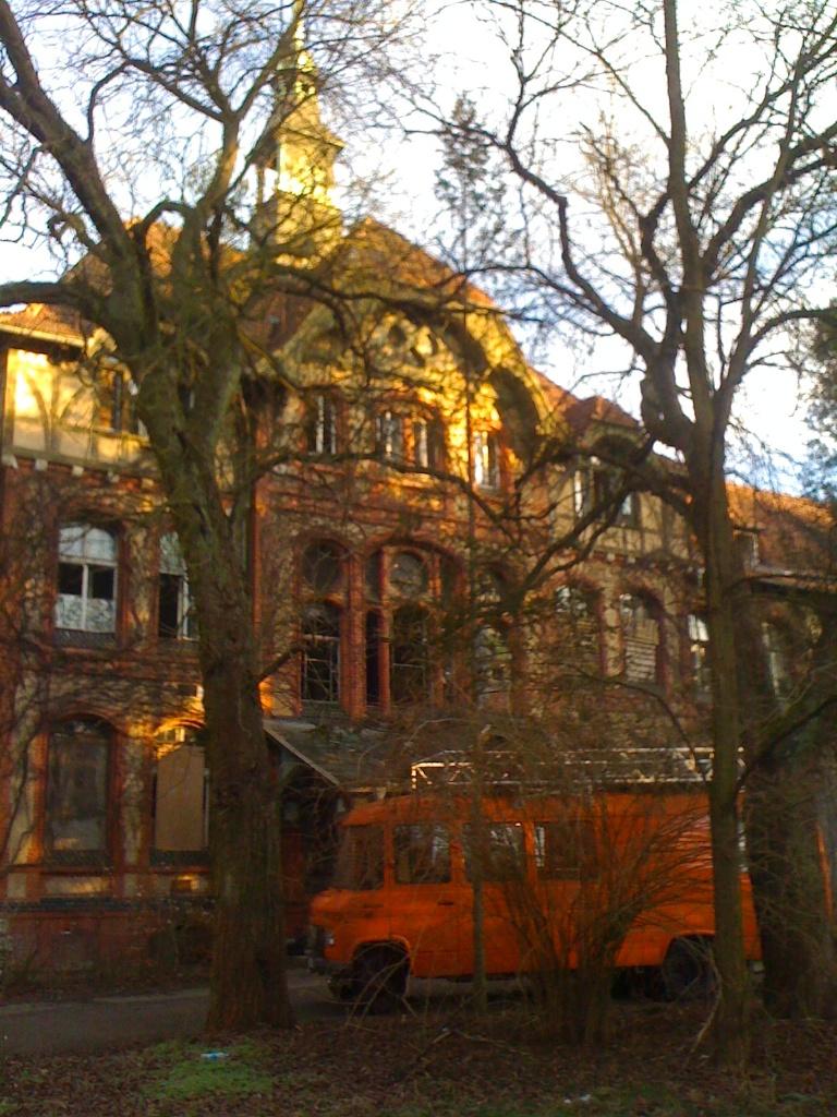 Außergewöhnliche Orte in und um Berlin: Beelitz Heilstätten im Winter