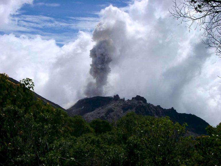 Mittelamerika: Vulkan in Guatemala