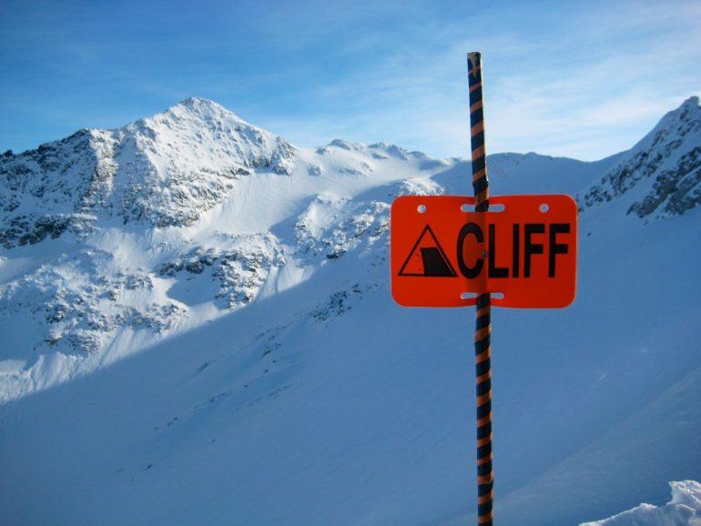 Schneebedeckte Berge in Whistler